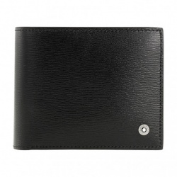 Montblanc 4810 Westside Men'S Small Leather Wallet & Money Clip 114687